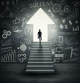 picture of stairway  - Way to success - JPG