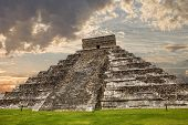 pic of mayan  - Ancient Mayan pyramid - JPG