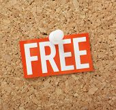 The word FREE