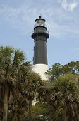 Hunting Island Lighthouse In Sc Usa