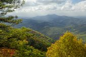 Cherohala Skyway In Peak Autumn Colors