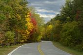Cherohala Skyway In Peak Autumn Color