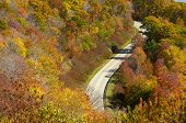 Cherohala Skyway in late October