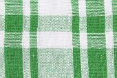 Abstract background green cloth.