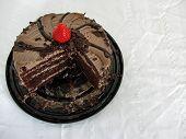 drei Viertel Kuchen