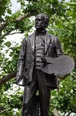 John Everett Millais statue, London