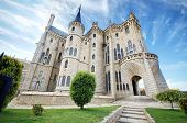 Astorga Epsiscopal Palace in Spain
