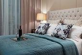 luxurious bedroom interior