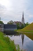 St. Albans church in Copenhagen Denmark