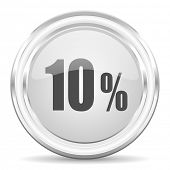 10 percent internet icon