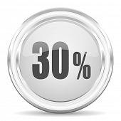 30 percent internet icon