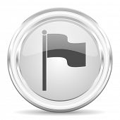 flag internet icon