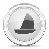 yacht internet icon
