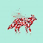 Polygonal Fox Logo
