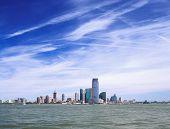 Jersey City On A Sunny Day.