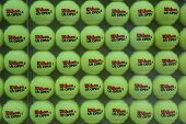 US Open Wilson tennis balls at Billie Jean King National Tennis Center