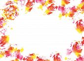 Abstract Watercolorl Background.