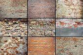 Old Weathered Brick Walls Textures