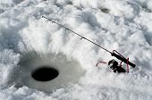 Rod And Reel Ice Fishing