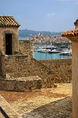 France, Antibes: View Of The Old City Of Fort Carré