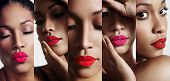 foto of  lips  - all about lips collage - JPG