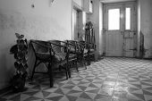 Interior of old corridor