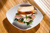 Sandwich In Morning Light