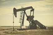 Pump Jack In South Central Colorado, Usa