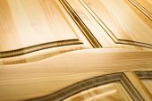 picture of wainscoting  - Wooden surface - JPG