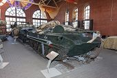 The Bmd-1 Is A Soviet Airborne Amphibious Tracked Infantry Fighting Vehicle