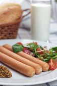 Wiener sausages