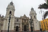 Basilica Cathedral Of Lima, Peru