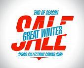 Great winter sale banner.