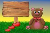 Valentine's Teddy Bear
