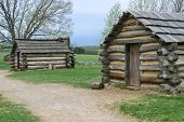 Soldiers quarters at Valley Forge