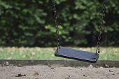 Damage Metal Playground Swing
