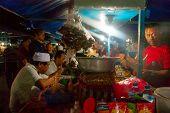 Dinner At Local Night Market, Bali