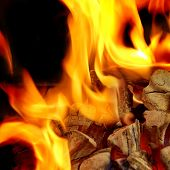 Blaze Fire Flame Background