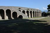 The Amphitheatre Of Pompeii