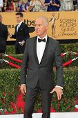 LOS ANGELES - JAN 25:  Michael Keaton at the 2015 Screen Actor Guild Awards at the Shrine Auditorium on January 25, 2015 in Los Angeles, CA