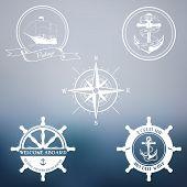 Vintage marine stamps