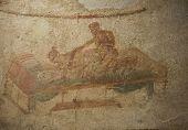 Erotic Fresco From Pompeii Brothel