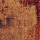 Grunge stained texture, distressed background with space for text or image. With different color patterns: purple (violet); yellow (beige); brown; red (orange)