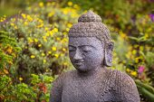 Grinning Stone Buddha