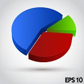 Business Info Graphic. Diagram