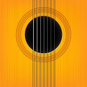vector guitar sound hole background.