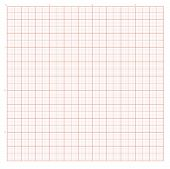 Vector background with red graph paper