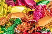 Christmas Tree Candy Wrap