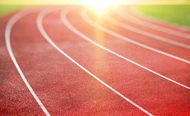 picture of track field  - running track for athletics and competition - JPG