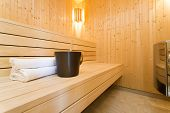 picture of sauna  - Modern Sauna  - JPG